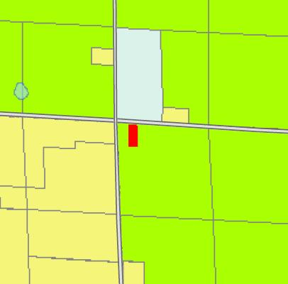 General Features of the Property Based on the Official County Zoning Map for