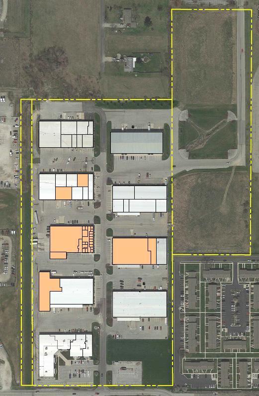 FOR LEASE KEYSTONE INDUSTRIAL PARK KEYSTONE DRIVE Fort Wayne, Indiana 46825 UNIT BUILDING SIZE RENT TYPE OF SPACE Various