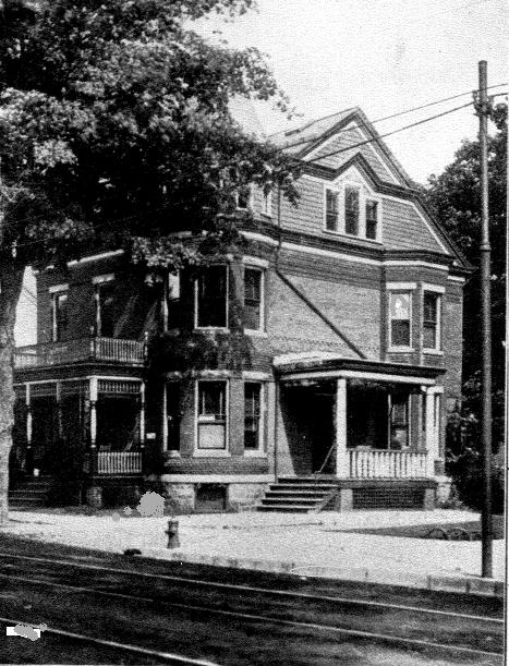 VOLUME XXXIX ISSUE The Haunted Museum House? DOVER-A photograph of the Dr. Arthur W. Condict house circa 1905 at a time when the doctor and his family would have resided there.