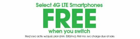 4G LTE Smartphone Offer: Limited Time Offer, while supplies last.