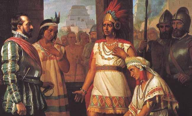 In the north, the Spanish encountered fierce resistance among certain peoples related to the Aztecs by language and to an extant custom.