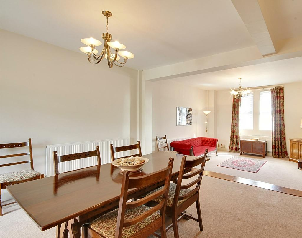 To the ground floor there are two large sized reception rooms along with a