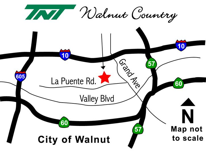 Walnut Country, LLC. 2709 Ferrero Parkway Walnut, CA 9789 Phone: 888.598.888 Fax: 909.594.8666 www.tntdevelopment.