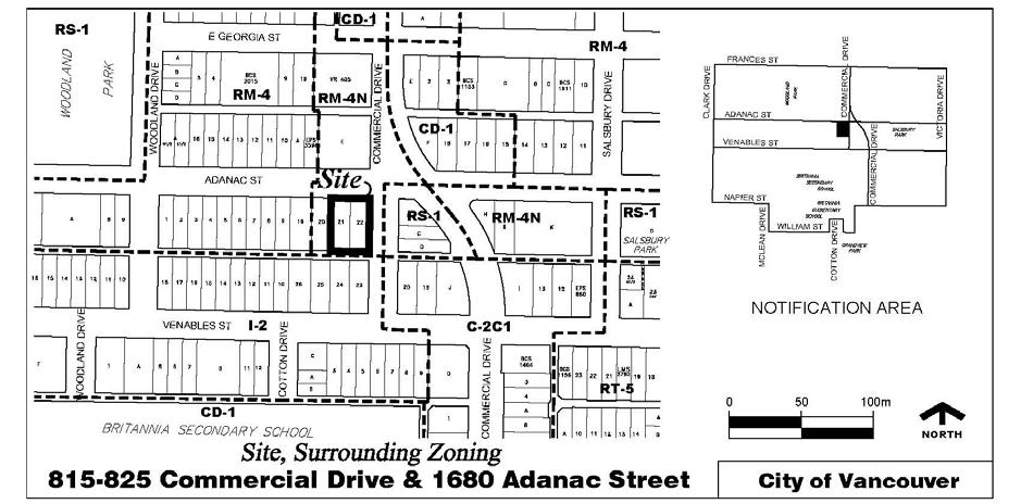 CD-1 Rezoning: 815-825 Commercial Drive and 1680 Adanac Street RTS 12855 3 Measures to regulate the loss of existing rental units have been addressed through the GWCP Pace of Change Policy.