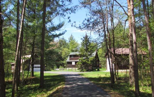 Paved Driveway ADK CABIN ON TRAILS MLS S1053460 Brenon Road, Turin $39,900 16.