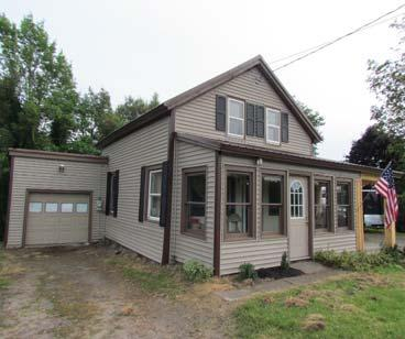3 acres with partial basement w/family room & 24x32 pole barn with wood stove MLS