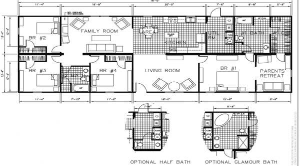 ! 864-427-1950 2000 SQ FEET 3 BR/2BA LARGE WALK IN CLOSET IN MASTER BEDROOM Horton Homes. It's more than a name.
