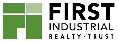 First Industrial Realty Trust, Inc. 1 North Wacker Drive Suite 4200 Chicago, IL 60606 312/344-4300 MEDIA RELEASE FIRST INDUSTRIAL REALTY TRUST REPORTS FIRST QUARTER 2019 RESULTS Signed 1.