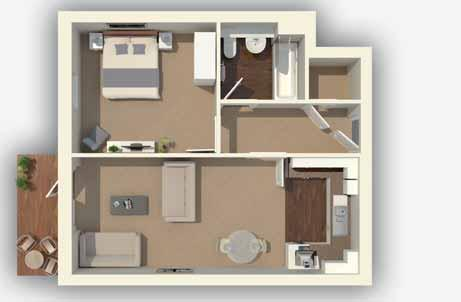 is a superb new development of 1, 2 and 3 bedroom