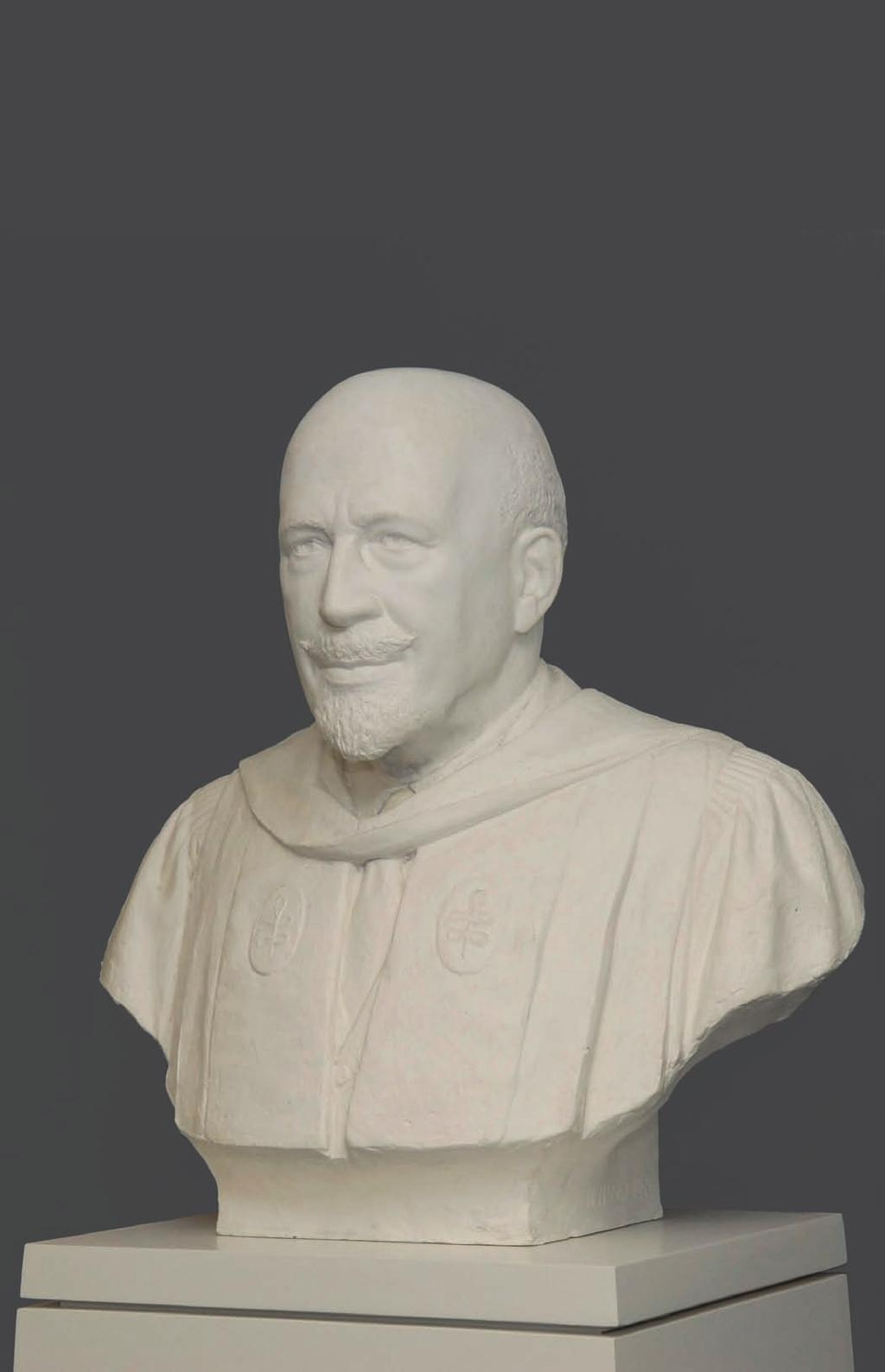 A bust of W. E. B. Du Bois (1993) commissioned by former President Neil L.