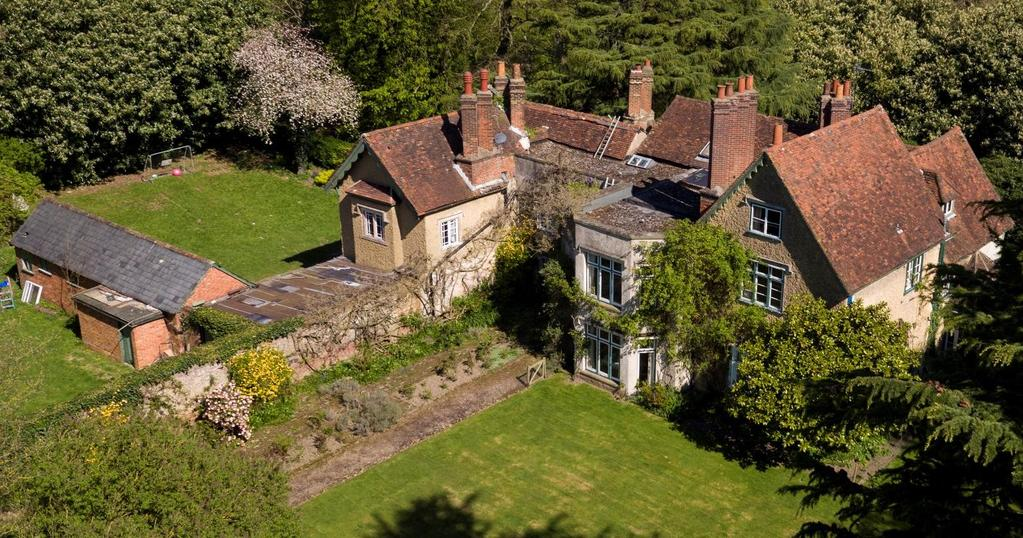 An Opportunity To Purchase This Extensive Eight Bed Grade II Listed Country House With Two