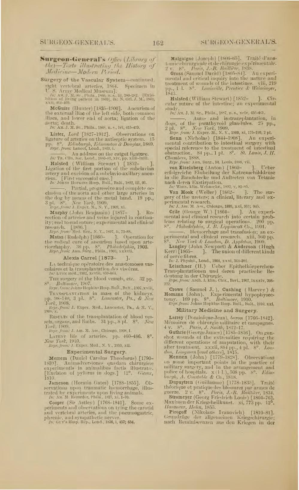 TEXTS ILLUSTRATING THE HISTORY OF MEDICINE IN THE. Library of the ...