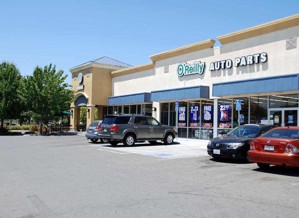 100 Leased O Reilly Auto Parts And Starbucks With Drive Thru Suisun