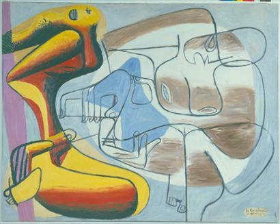 THE BODY IN THE WORK OF LE CORBUSIER Like many great architects, Le Corbusier dabbled in various artistic mediums outside of architecture, notably sculpture and painting.