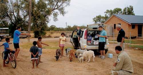 Together, they are investigating ways to improve canine health in remote Indigenous communities and bring health benefits to the wider community.
