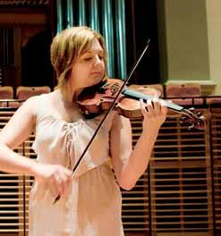 French-made violin. Madeline Procopio, a solo violinist at the Sydney Conservatorium of Music, has always had a passion for performing.