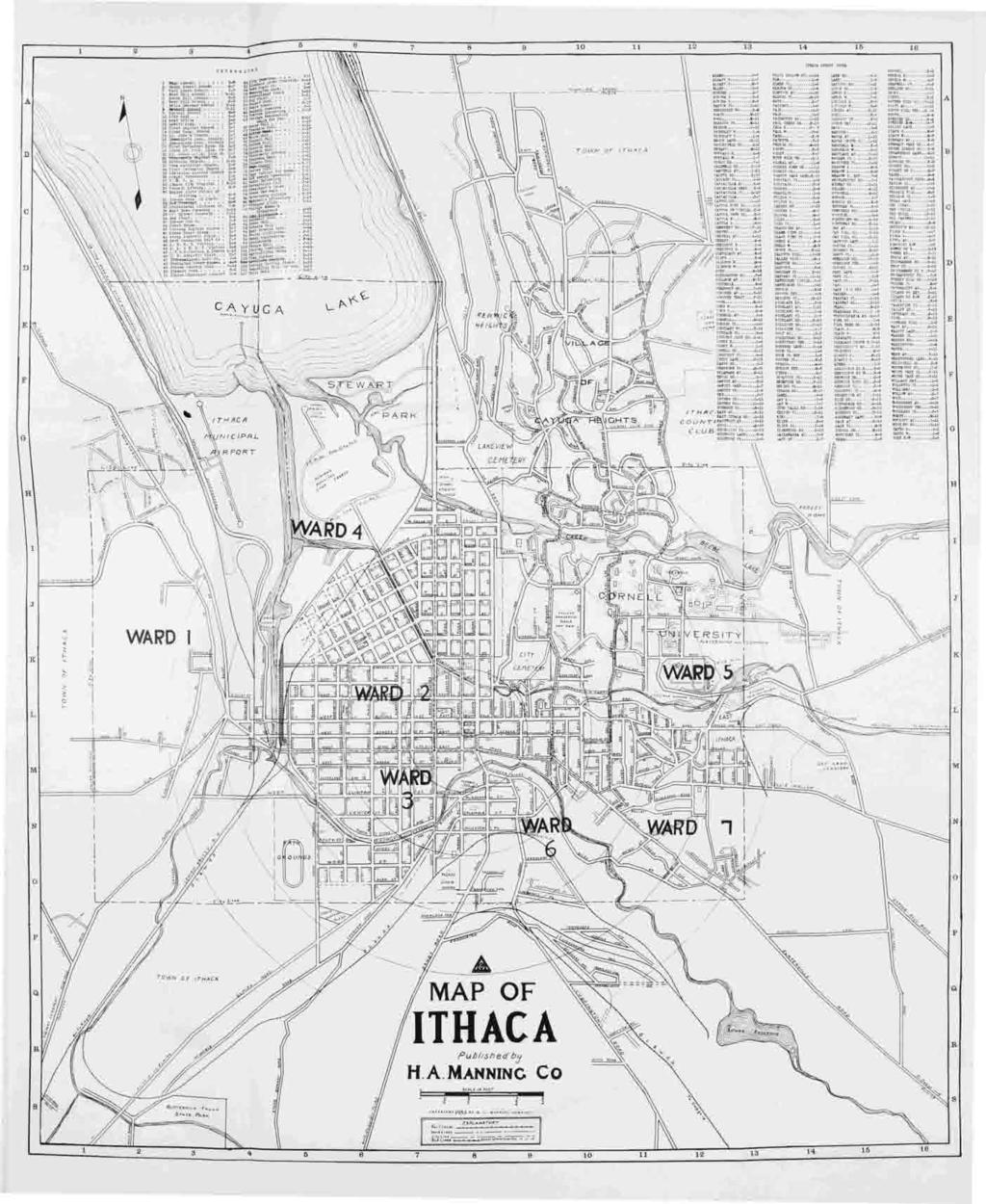 Ithaca Numerical Street Directory - PDF