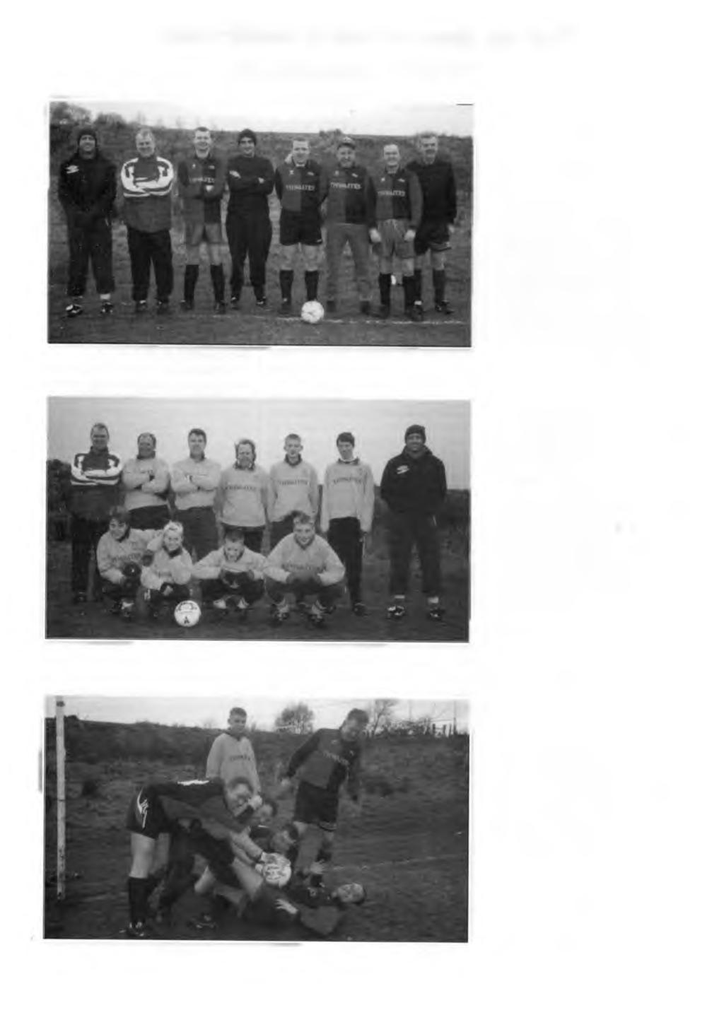 Old Blackburnians AFC Season 1998/9 THE OLD BLACKS 1998 There was silverware on the table again this year at the end of season dinner and a new feeling of optimism running through the club.