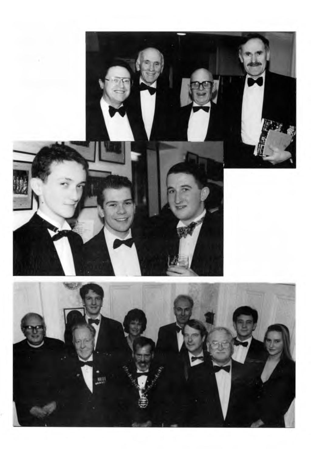MAGISTER - PAGE 20 AUTUMN 1994 Right: OBA C om m ittee m an, form er Q EG S English m aster Bill Proctor,
