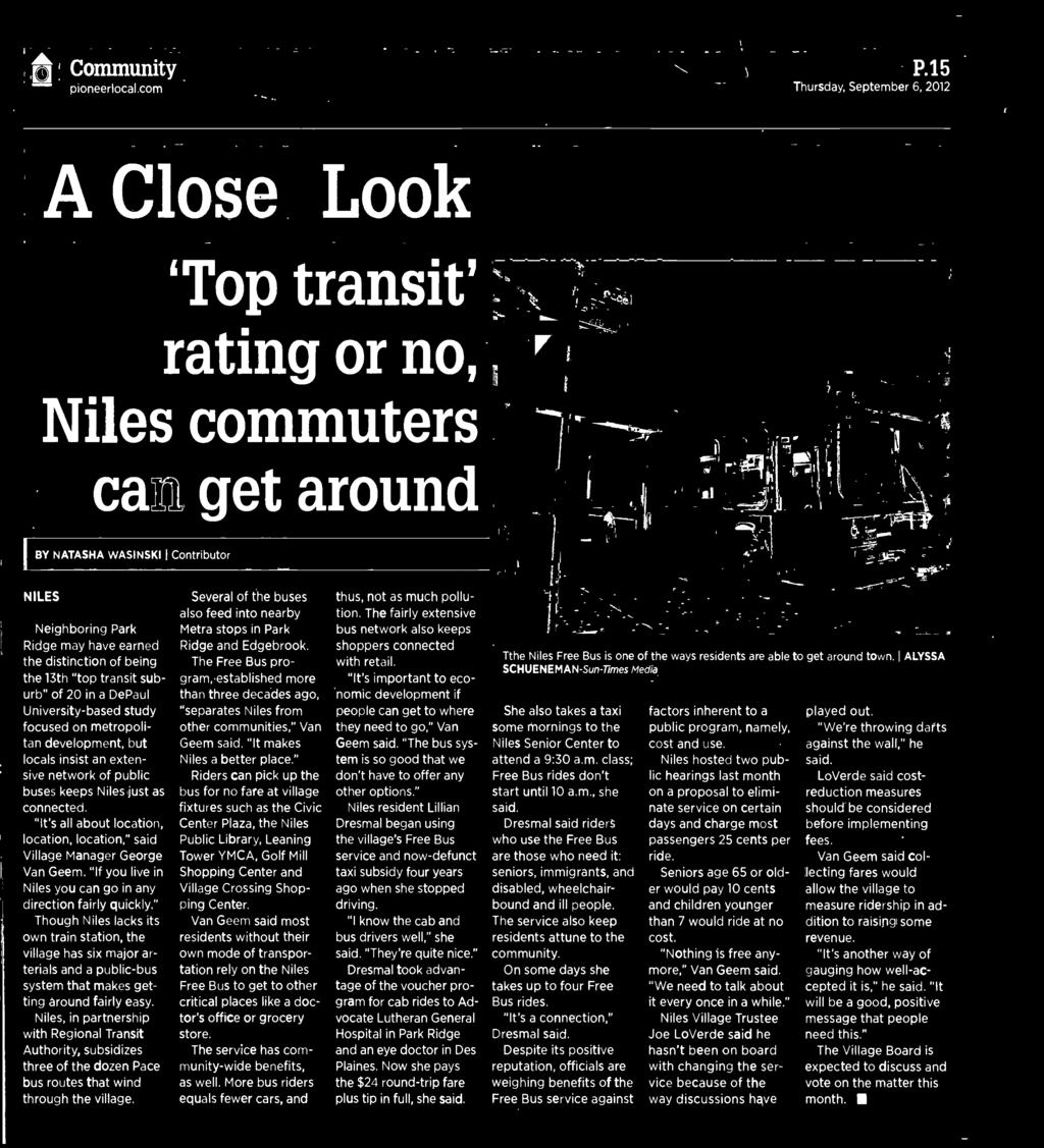 Nues Herald Spectator Pdf Wiring Diagram On Metra 70 5518 Harness For 2002 04 Ford Though Lacks Its Own Train Station The Village Has Six Major Artenais And