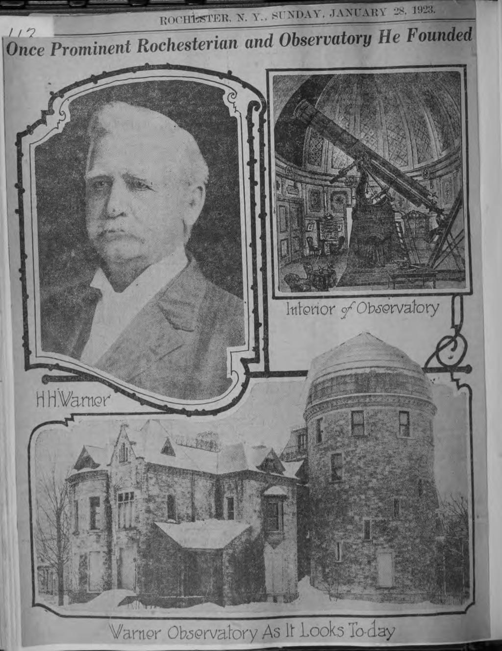 Central Lbrary of Rochester and Monroe County ^rmm-eb K T Hstorc Scrapbooks Collecton