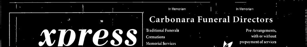 6) For more detaus contact us at 847-998-3400 option 6 n Memoriam General nformation