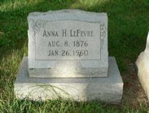 Born on 8 Aug 1876 in Lancaster Co., Pa. 4,2 Anna Herr died on 26 Jan 1960; she was 83.