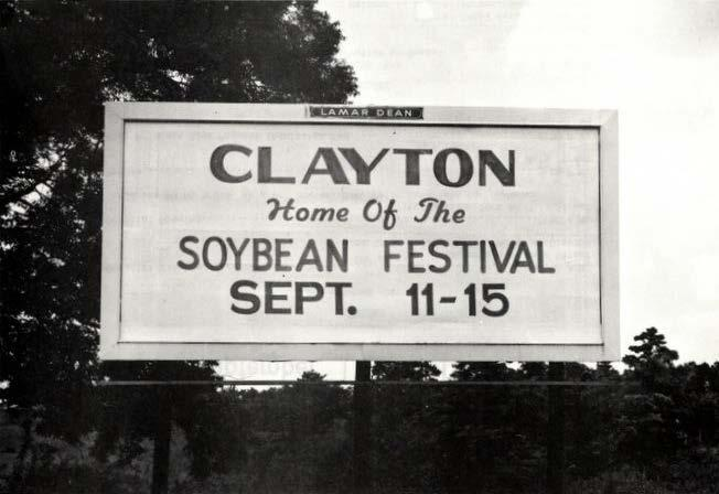 Soybean Festival North Carolina Soybean Festival begun in 1972.