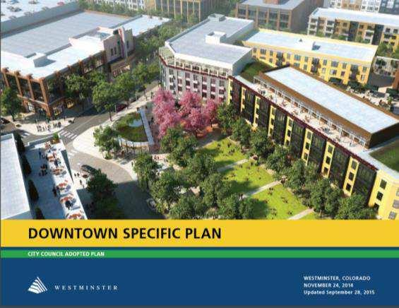 Specific Plan Elements Replicates Downtown Plan Complies with Strategic Plan Vision Walkable, Mixed Use,