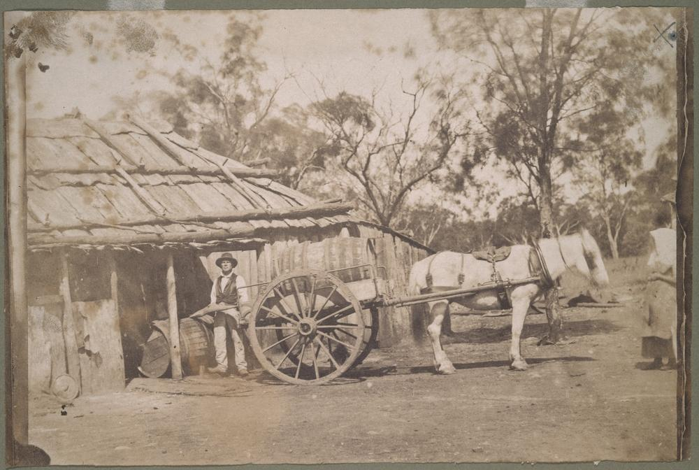 On arrival they lived at Canvas Town. Canvas Town was between Princess Bridge and South Melbourne set up during the gold rushes to accommodate huge influxes of new arrivals.