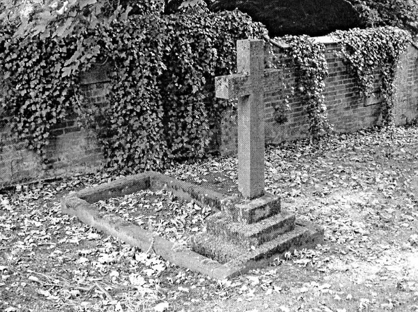 The Tomb of Sir George Arthur Hamilton Beaumont 11 th Baronet. The original grave is situated in the old graveyard on the right hand side of the path.