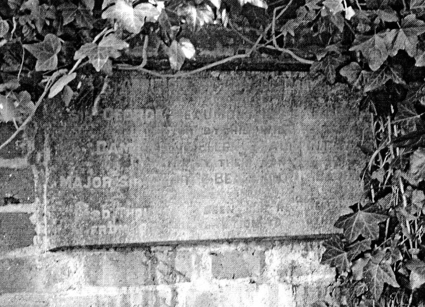 This plaque is situated on the wall directly adjacent to the Tomb of Sir George Arthur Hamilton Beaumont 11 th Baronet The inscription to the plaque reads:- THE ADDITION TO THIS CHURCHYARD IN MEMORY