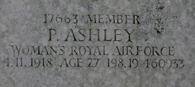 (section 213) in All Souls Cemetery, Kensal Green, London, England as P. Ashley.