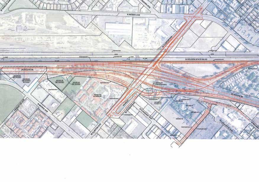 High Speed Rail/Proposed New Interchange - Clinton Avenue & Freeway 99 acceptable to us and our principal and the